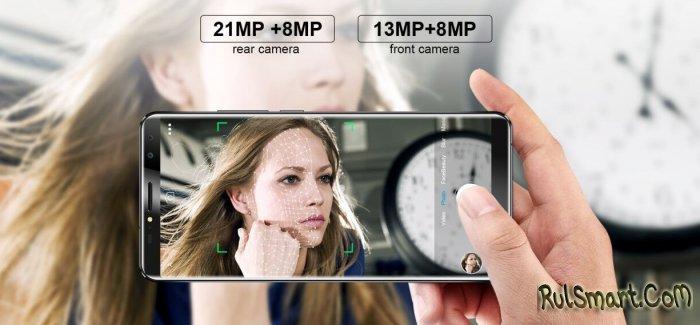 Безрамочный смартфон OUKITEL K6 резко подешевел с $269.99 до $199.99
