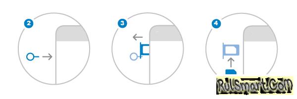 Как открыть слот для SIM-карты (простое извлечения СИМ-лотка)?