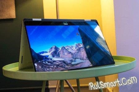 Dell XPS 15 2–in–1: новый ноутбук с клавиатурой типа маглев (CES 2018)