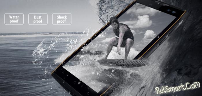 Aermoo M2: защищенный смартфон  с двойной камерой и PureView Carl Zeiss