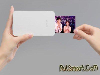 Xiaomi XPRINT Pocket AR Photo Printer печатает фотографии с дополненной реальностью