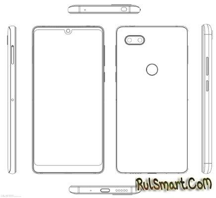 Nubia Z19: первые рендеры флагманского смартфона со Snapdragon 845