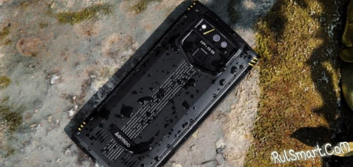 Aermoo M2: защищенный смартфон, который переживёт и снимет апокалипсис