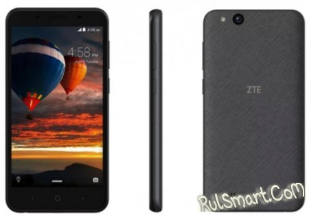 ZTE Tempo Go на Android 8.1 Oreo Go Edition стоит $80 (MWC 2018)