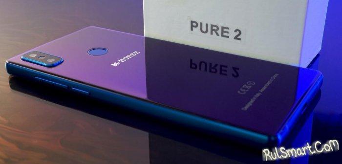 Распродажа смартфонов M-HORSE: конские скидки на Pure 2 и Power 2