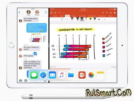 Apple iPad 2018 – недорогой образовательный планшет с Apple Pencil
