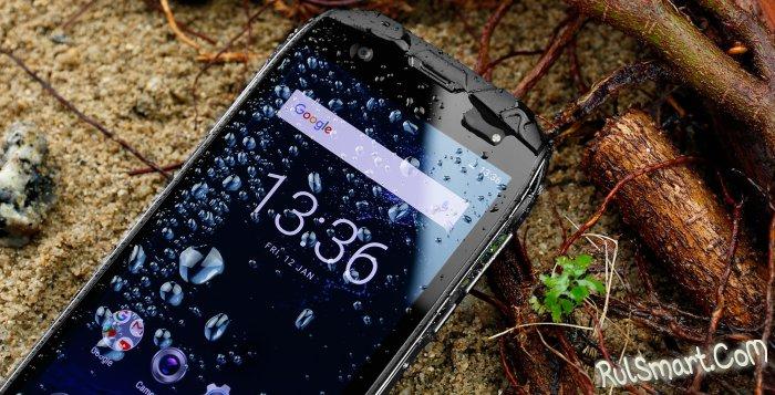 Тест автономности защищенного смартфона OUKITEL WP5000 (видео)