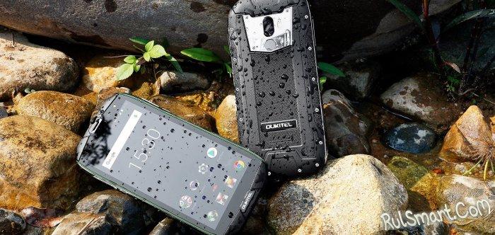 OUKITEL WP5000: скидка на новый защищенный смартфон в Banggood
