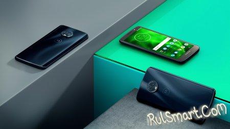 Moto G6, G6 Play и G6 Plus: безрамочные смартфоны от Motorola