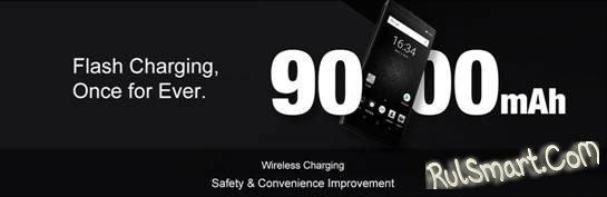 Новый смартфон DOOGEE BL9000 с мощным аккумулятором доступен со скидкой