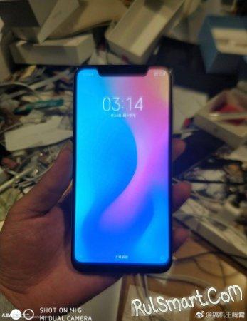 Xiaomi Mi7: смартфон на живых фото и в бенчмарке Geekbench