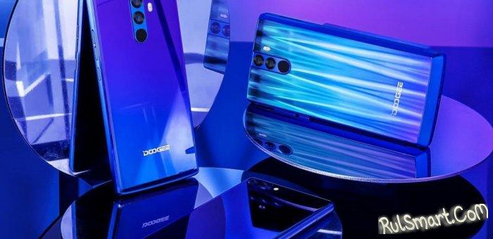 DOOGEE Mix, Mix 2 и BL12000 получили цвета Twilight и Aurora Blue