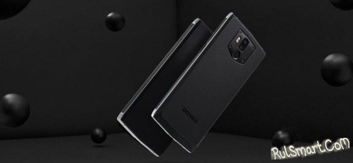 Doogee BL9000: смартфон с мощным аккумулятором и бизнес-дизайном