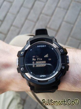 Обзор умных часов NO.1 F7