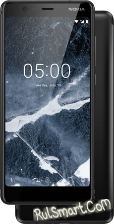Nokia 5.1: алюминиевый смартфон с Helio P18 и 16-Мп камерой