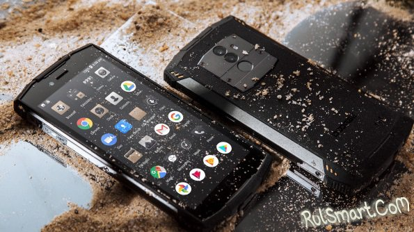 Doogee S55: защищенный смартфон на Android 8.0 и с двойной камерой
