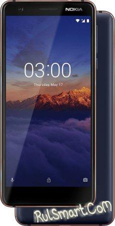 Nokia 3.1: компактный бюджетный смартфон с премиальным дизайном