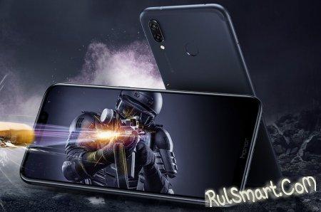 Honor Play: игровой смартфон с технологией GPU Turbo и чипом Kirin 970