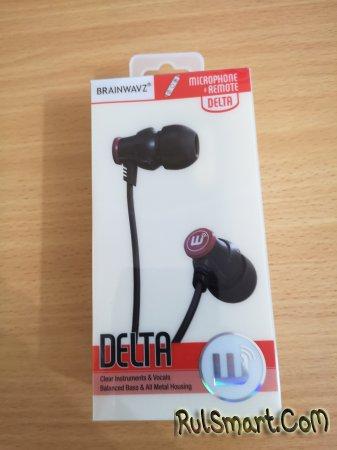 Обзор наушников Brainwavz audio Delta