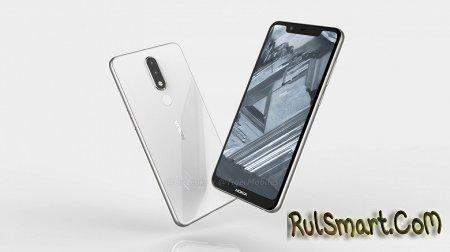 Nokia 5.1 Plus с вырезом на экране: Helio P23 и соотношение сторон 19:9