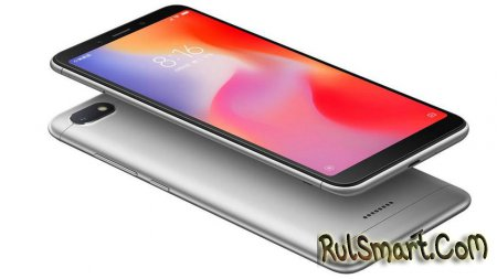Xiaomi Redmi 6 и Redmi 6A: недорогие смартфоны с модной начинкой (анонс)