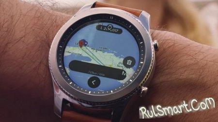 Умные часы Samsung Gear S4 могут получить огромную батарею