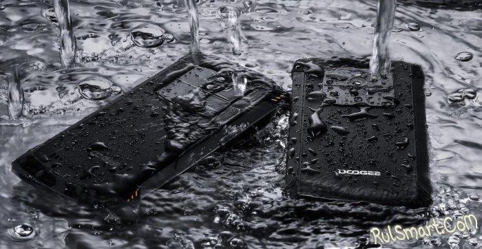 Doogee S55: смартфон с самым защищенным корпусом и Android 8.0