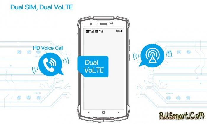 DOOGEE S55 Lite: защищенный смартфон с двумя SIM и поддержкой VoLTE