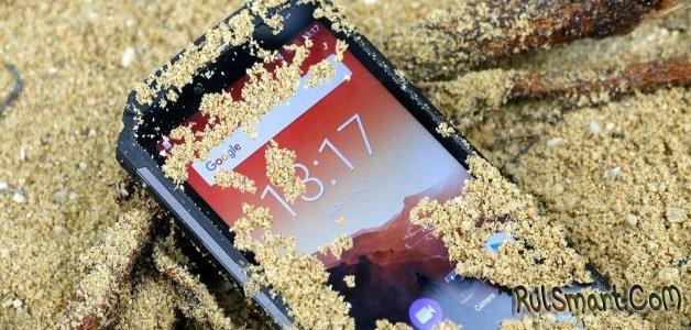 OUKITEL WP2: защищенный смартфон с аккумулятором на 10000 мАч