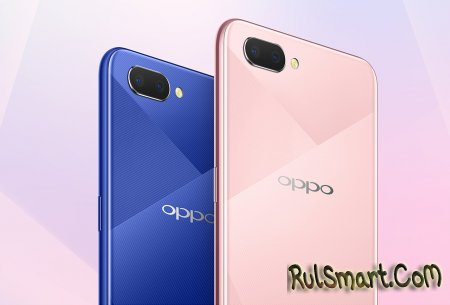 OPPO A5: безрамочный смартфон со Snapdragon и Android Oreo 8.1