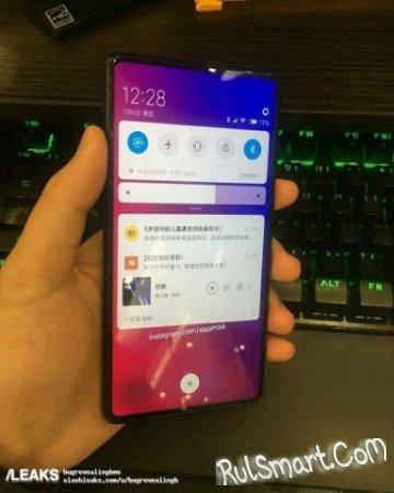 Xiaomi Mi Mix 3: минимальные рамки и отсутствие выреза над экраном