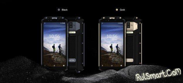 OUKITEL WP2: защищенный смартфон с аккумулятором 10000 мА/ч и NFC (видео)