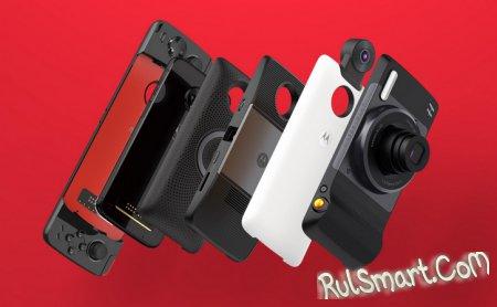 Motorola Moto Z3 – модульный смартфон со Snapdragon 835 и 5G
