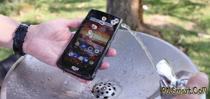 HOMTOM ZOJI Z9 — защищённый смартфон по IP68 на Android 8.1 Oreo