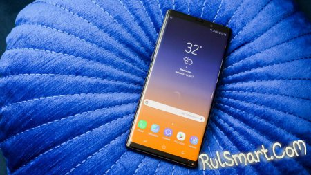 Samsung Galaxy Note 9: Exynos 9810, дистанционный S Pen и DeX
