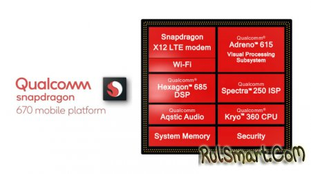 Snapdragon 670: лайт-мод Snapdragon 710 для среднего сегмента