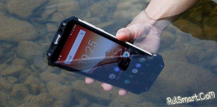 OUKITEL WP2: тестирование защищенного смартфона по стандарту IP68