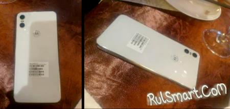 Motorola One с двойной камерой и вырезом в дисплее (первые фото)