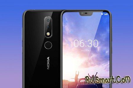 Nokia 6.1 Plus: новый смартфон со Snapdragon 636 и Android One