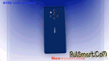Nokia 9 и X7: шпионские фотографии новых смартфонов