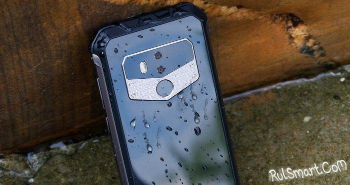 OUKITEL WP1: защищенный смартфон с поддержкой беспроводной зарядки