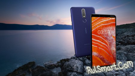 Nokia 3.1 Plus: 6-дюймовый смартфон с Helio P22 и 3 ГБ ОЗУ