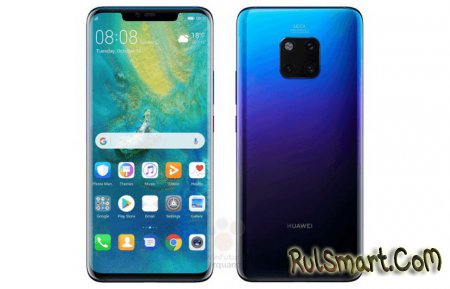 Huawei Mate 20 Pro: все характеристики смартфона и новый рендер
