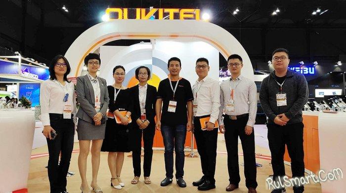 Oukitel показала все самые крутые смартфоны на Global Sources Electronics Show