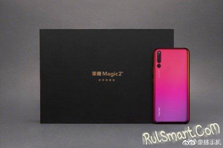 Honor Magic 2: смартфон с Kirin 980 засветился на видео и фото