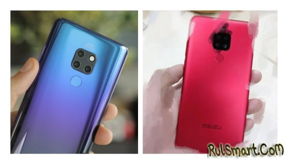 Meizu Note 8 Plus с 4 камерами и Snapdragon 632 на первых фото