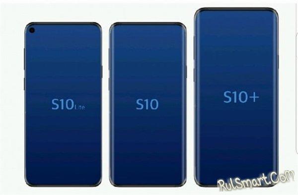 Samsung Galaxy S10 — первый смартфон с 12 ГБ оперативной памяти