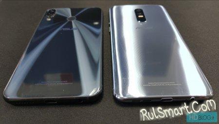 ASUS ZenFone 6: безрамочный дисплей с вырезом сбоку (фото и видео)