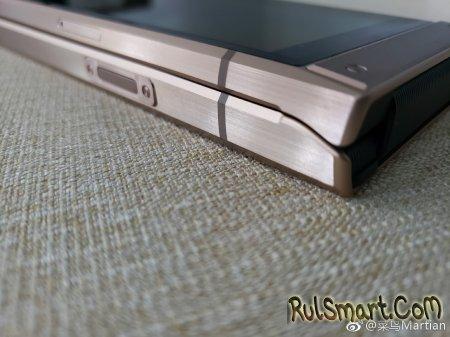 Samsung W2019: первые фото и видео флагманской раскладушки