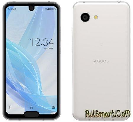 Sharp Aquos R2 Compact: невероятный смартфон с двумя вырезами